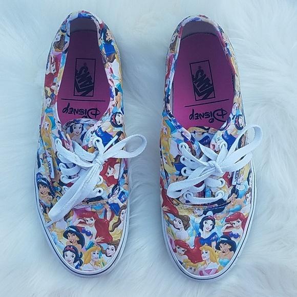 ce22971a07 Vans Shoes - MUST HAVE! Vans Disney Princess Shoes